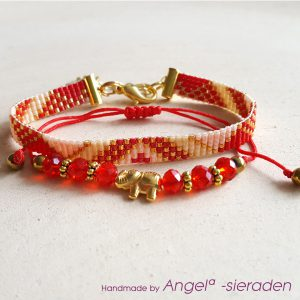 armbandenset red olifant