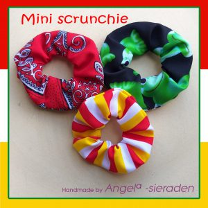 mini scrunchie oeteldonk