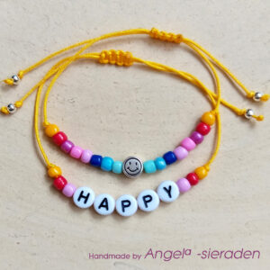 armbandenset happy smiley