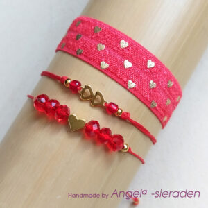 armbandjes red love