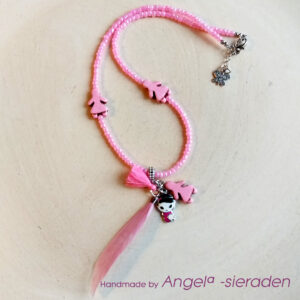 kinderketting roze